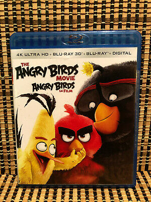 The Angry Birds Movie 3D (2-Disc Blu-ray, 2016)Jason Sudeikis/Josh Gad/Sean Penn