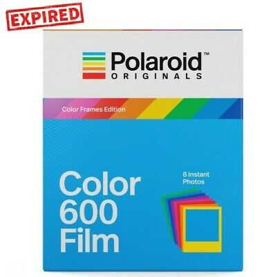 EXPIRED - Polaroid Originals COLOR FRAMES instant film 600 660 636 OneStep - US
