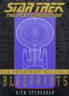 BLUEPRINTS: STAR TREK: NEXT GENERATION NCC-1701-D by Sternbach