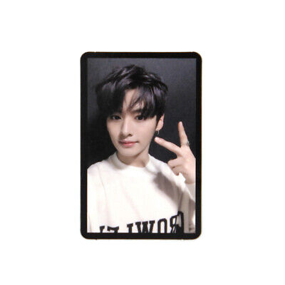 [STRAY KIDS]Cle 2:Yellow Wood/Side Effects/Official Photocard / BLACK - LEEKNOW