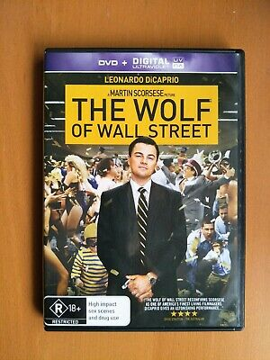 The Wolf Of Wall Street (DVD, 2014) Leonardo DiCaprio AS NEW MINT