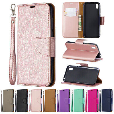 Phone Case Magnetic Leather Wallet Flip Cover For Huawei Y5 Y6 Y7 P20 Lite 2019