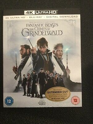 Fantastic Beasts: The Crimes of Grindelwald 4K UHD  Brand New