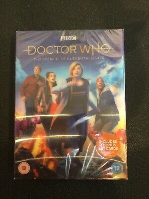 DOCTOR WHO SERIES 11 DVD Brand New and Sealed UK REGION 2 Free Fast Postage