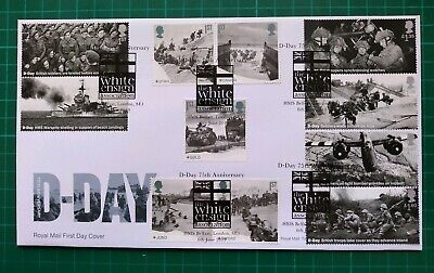 2019 75th Anniversary D-Day ALL 11 Stamps FDC HMS Belfast London SE1 postmark