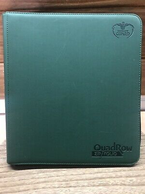 Ultimate Guard Quad Row Zip Folio For Trading Cards - 504 Pocket