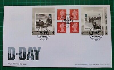 2019 75th Anniversary D-Day Retail Booklet FDC Remembered London SW3 postmark