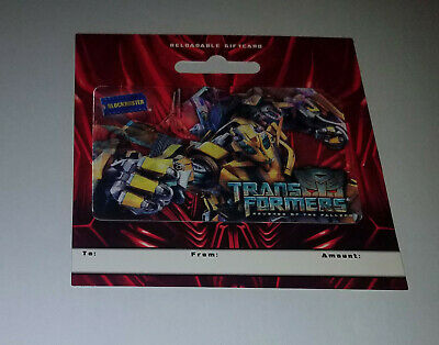 Blockbuster Video - 2009 Transformers Holographic Gift Card (No Value)