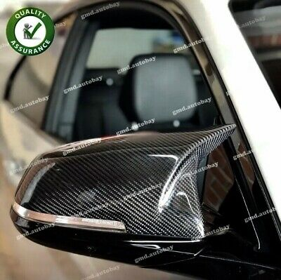 BMW. M3/M4 style carbon fibre Replacement Mirror Covers F20 F21 F30 F31 F32 F33