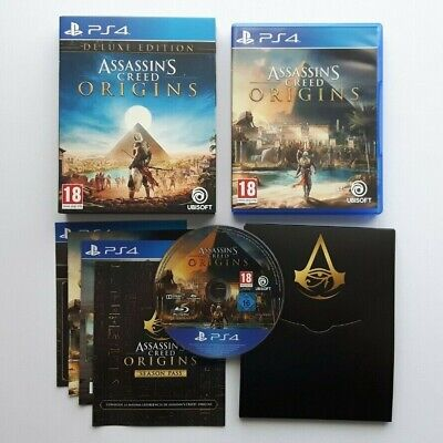 Assassin's Creed Origins Deluxe Edition PS4 PAL Version