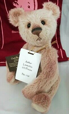 SPECIAL OFFER! 2018 Charlie Bears Isabelle Mohair ARTHUR (No 128/275) RRP £125
