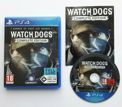 Watch Dogs Complete Edition PS4 PAL Version