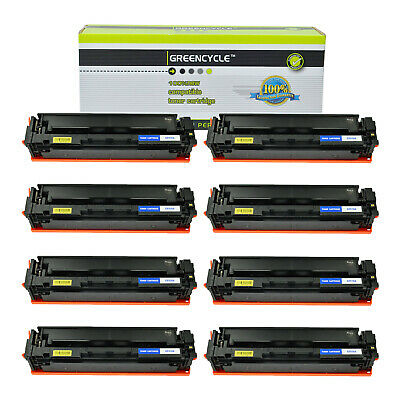 4-pack Toner Set For Hp 204A Color LaserJet M154nw M180n M181fw M181nw CF510A