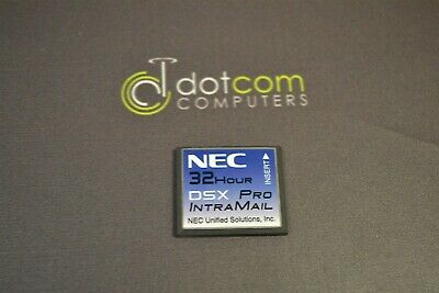 NEC 8 Port 32 Hour DSX Intra-Mail Unified Solutions DSX Voice-mail 1091053 160