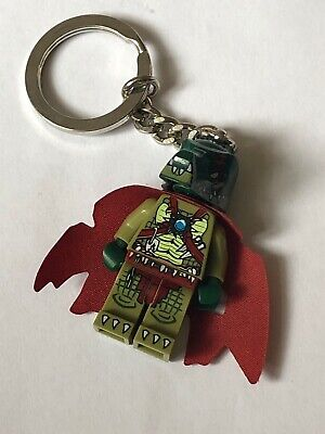 LEGO Chima Minifigure Key Ring Cragger x 5 and Eris x 5 Ideal for Party Bags