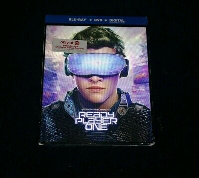Ready Player One TARGET EXCLUSIVE (Blu-Ray / DVD) NEW