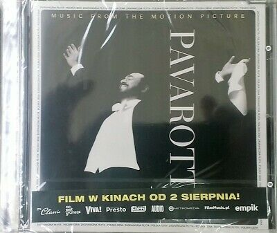 Music From The Motion Picture Pavarotti  Polish release ( Sealed / Folia )