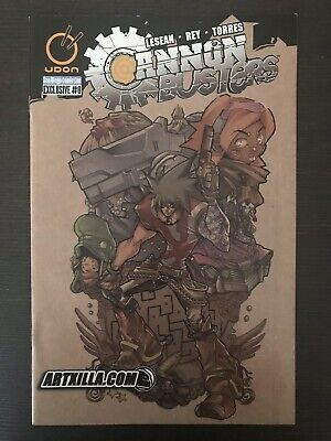 Cannon Busters 0 San Diego Comic Con Exclusive 2004 Udon Comic Book SDCC Netflix