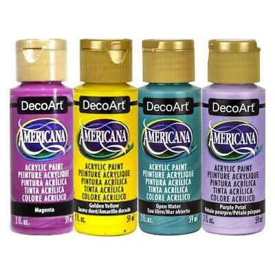 DecoArt Americana Acrylic Paints Value Pack 4pcs - In The Groove