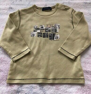 18 Months Authentic Burberry Baby Boys T-shirt Infant 18M