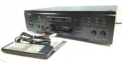 DENON DMD-1000 Audiophile Minidisc Recorder with remote control - All working