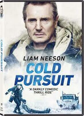 COLD PURSUIT (DVD, 2019) New & Sealed Free Shipping Included!