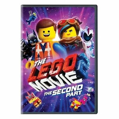 The Lego Movie 2: The Second Part (DVD 2019) New & Sealed Free Shipping Included