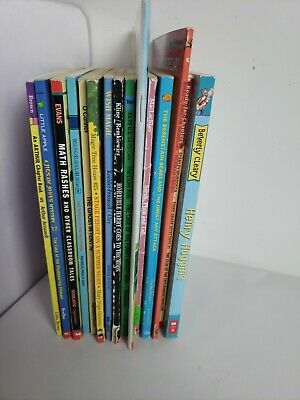 Lot 15 chapter books Children's Youth Early Readers Homeschool Teacher b5