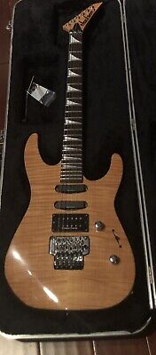 1990 Jackson Soloist MIJ Yellow Maple Top