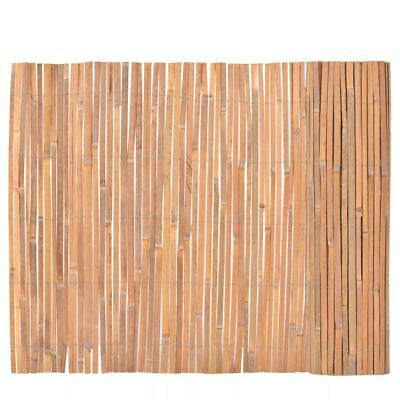1x4M Bamboo Cane Split Slat Garden Screening Roll Screen Fencing Fence Panel