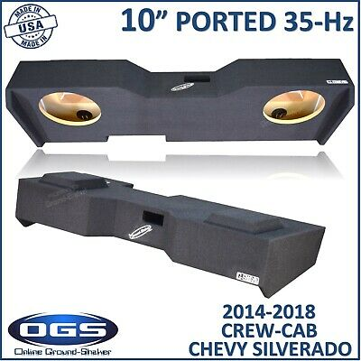 "OBCON 07-2013 CHEVY SILVERADO 1500 2500 3500 Crew Cab 10/"" Ported Box OBQ69-10c"