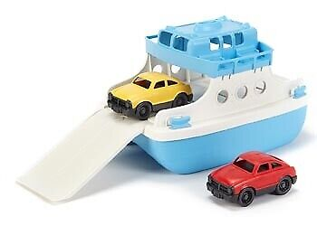 Green Toys - Ferry Boat w/ 2 Mini Cars GY030