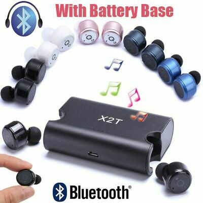 Magnetic Charging Case Headset True Wireless Bluetooth 4.2 Twin Earbuds