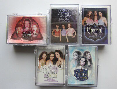 Charmed  - 5 x Trading Card Sets - Inkworks