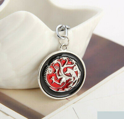 Game of Thrones House Targaryen Key Ring