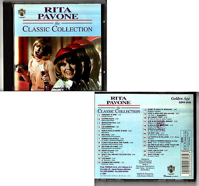 RITA PAVONE. The Classic Collection. CD Brani in Francese e Inglese FREMUS 1994