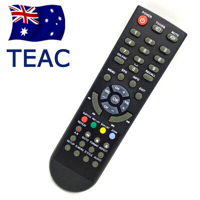 2019 TEAC Brand New Original Remote Control for Set Top Box Model HDB850 OZ