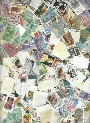 Used Off-Paper Commemorative Stamps - 2 oz - From Estate Hoard!!! FREE SHIPPING