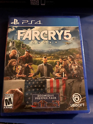 PS4  Far Cry Five  BRAND NEW FACTORY SEALED