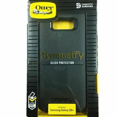 Genuine OtterBox Symmetry Series Case Cover for Samsung Galaxy S8 Plus Black