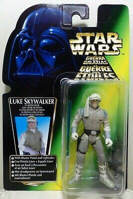 """Star Wars Kenner 3.75"""" The Power of the Force LUKE SKYWALKER Hoth ¡como nuevo!"""