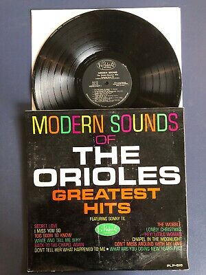 THE ORIOLES Greatest Hits Sonny Til LP Vinyl VG+/VG+