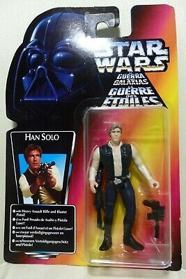 """Star Wars Kenner 3.75"""" The Power of the Force HAN SOLO ¡nuevo!"""