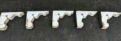 5 Antique Victorian Architectural Gingerbread House Gable Corners Roof Supports