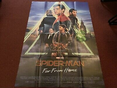 Affiche Cinéma  120x160cm «Spiderman Far From Home » + 🎁