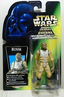 """Star Wars Kenner 3.75"""" The Power of the Force Bounty Hunter BOSSK ¡como nuevo!"""