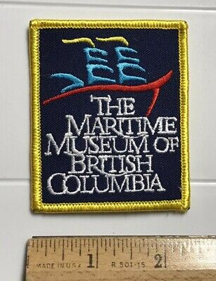 The Maritime Museum of British Columbia BC Canada Souvenir Embroidered Patch