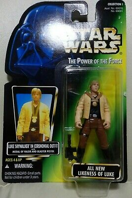 Star Wars Hasbro 3.75 The Power of the Force LUKE SKYWALKER IN CEREMONIAL OUTFIT