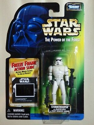"""Star Wars Kenner 3.75"""" The Power of the Force STORMTROOPER ¡nuevo!"""
