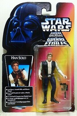 """Star Wars Kenner 3.75"""" The Power of the Force HAN SOLO ¡como nuevo!"""